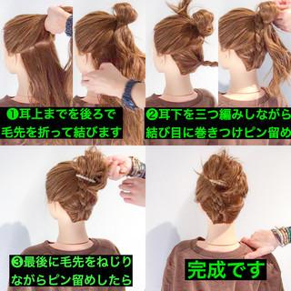 デート アウトドア ガーリー セミロング ヘアスタイルや髪型の写真・画像 ヘアスタイルや髪型の写真・画像