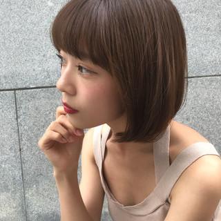 フェミニン スポーツ ミディアム デート ヘアスタイルや髪型の写真・画像
