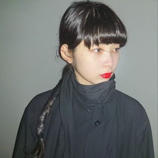モード ヘアアレンジ ロング 撮影 ヘアスタイルや髪型の写真・画像