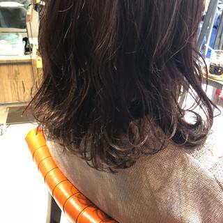 ヘアアレンジ ピンクバイオレット イルミナカラー ピンク ヘアスタイルや髪型の写真・画像 ヘアスタイルや髪型の写真・画像