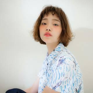パーマ モテ髪 外国人風 ナチュラル ヘアスタイルや髪型の写真・画像 ヘアスタイルや髪型の写真・画像