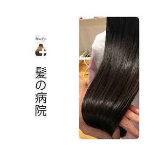 髪の病院 ロング 名古屋市守山区 ナチュラル ヘアスタイルや髪型の写真・画像