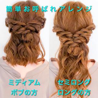 ショート ヘアアレンジ フェミニン ロング ヘアスタイルや髪型の写真・画像 ヘアスタイルや髪型の写真・画像