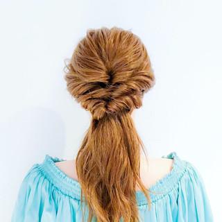 フェミニン ヘアアレンジ ショート 簡単ヘアアレンジ ヘアスタイルや髪型の写真・画像
