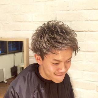 ショート ストリート メンズ 外国人風 ヘアスタイルや髪型の写真・画像