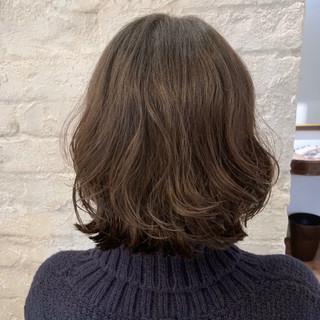 パーマ デジタルパーマ ボブ ヘアスタイルや髪型の写真・画像