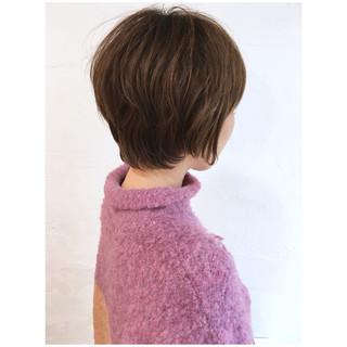 ショートパーマ マッシュショート ショートボブ ショート ヘアスタイルや髪型の写真・画像