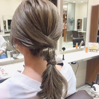 山浦桃さんのヘアスナップ