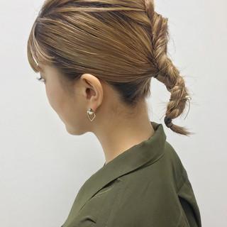福岡市 ヘアアレンジ 大人カジュアル モード ヘアスタイルや髪型の写真・画像