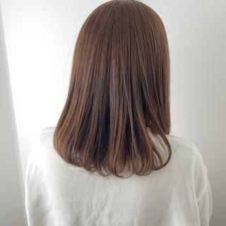 大人かわいい うる艶カラー ゆるふわ 艶髪 ヘアスタイルや髪型の写真・画像