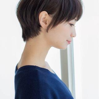 ナチュラルショート美人♡田中美保風の髪型で大人かわいさアップ!