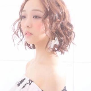 春 ボブ コンサバ パンク ヘアスタイルや髪型の写真・画像