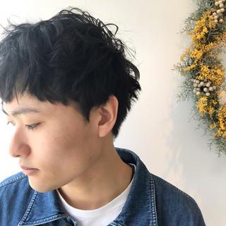 アウトドア メンズショート ストリート ショート ヘアスタイルや髪型の写真・画像