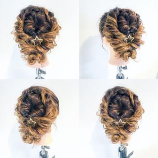 大人かわいい ルーズ ヘアアレンジ 結婚式 ヘアスタイルや髪型の写真・画像