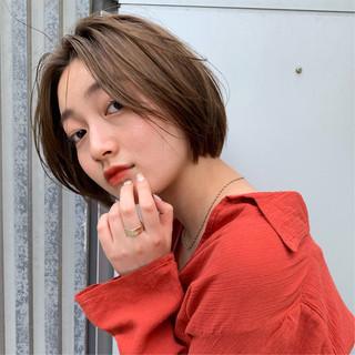 ボブ 阿藤俊也 似合わせカット PEEK-A-BOO ヘアスタイルや髪型の写真・画像
