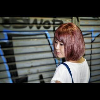 ガーリー 大人かわいい 色気 ボブ ヘアスタイルや髪型の写真・画像