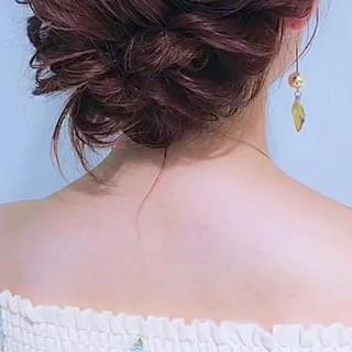 ヘアアレンジ 大人女子 デート ヘアスタイルや髪型の写真・画像