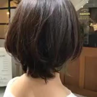 大人かわいい デート 外国人風カラー ボブ ヘアスタイルや髪型の写真・画像
