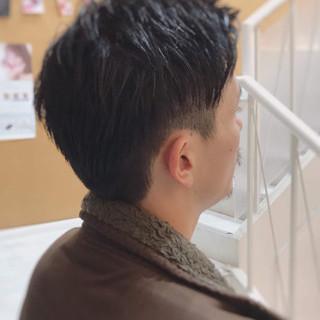 メンズカット メンズショート モード メンズヘア ヘアスタイルや髪型の写真・画像