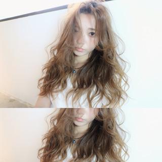 ロング ピュア ゆるふわ 大人かわいい ヘアスタイルや髪型の写真・画像