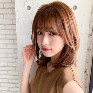 デジタルパーマ デート 前髪あり 前髪パーマ ヘアスタイルや髪型の写真・画像
