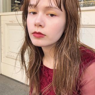 ハイライト 前髪あり 大人かわいい パーマ ヘアスタイルや髪型の写真・画像 ヘアスタイルや髪型の写真・画像