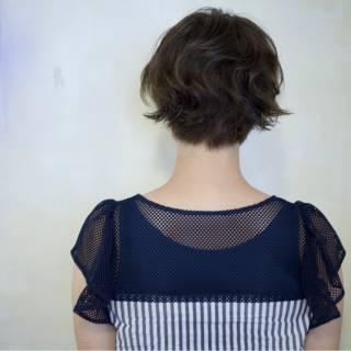 フェミニン パーマ 大人かわいい 外国人風 ヘアスタイルや髪型の写真・画像