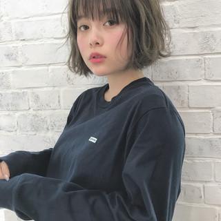 前髪あり デート ショート スポーツ ヘアスタイルや髪型の写真・画像