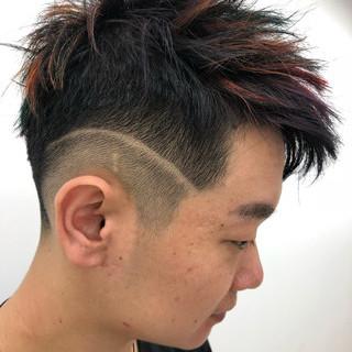 ショート ストリート メンズ スポーツ ヘアスタイルや髪型の写真・画像