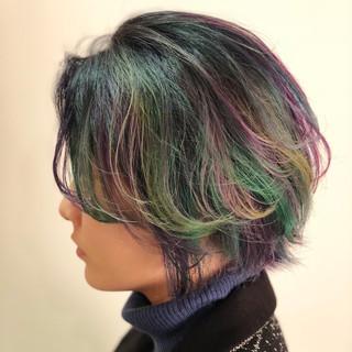 色気 スポーツ ショート ボブ ヘアスタイルや髪型の写真・画像
