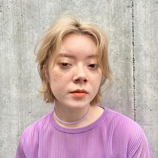 ボブ ミニボブ 透明感カラー 切りっぱなしボブ ヘアスタイルや髪型の写真・画像