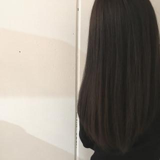 ストリート ナチュラル ロング ストレート ヘアスタイルや髪型の写真・画像