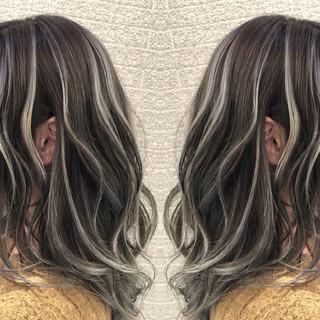 ミディアム 3Dハイライト ストリート 成人式 ヘアスタイルや髪型の写真・画像
