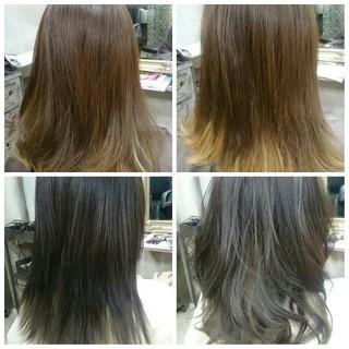 ガーリー ハイライト 大人かわいい アッシュ ヘアスタイルや髪型の写真・画像 ヘアスタイルや髪型の写真・画像
