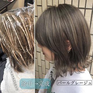ナチュラル 外国人風カラー ダブルカラー ハイライト ヘアスタイルや髪型の写真・画像