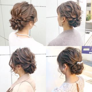 簡単ヘアアレンジ ロング デート ヘアアレンジ ヘアスタイルや髪型の写真・画像 ヘアスタイルや髪型の写真・画像
