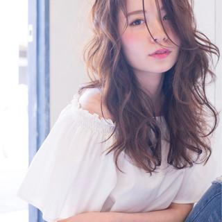 リラックス 小顔 パーマ 大人女子 ヘアスタイルや髪型の写真・画像