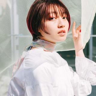 モード 阿藤俊也 ミニボブ ショートボブ ヘアスタイルや髪型の写真・画像