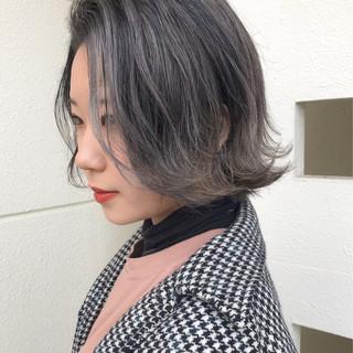 エアータッチ ショートボブ ボブ ミニボブ ヘアスタイルや髪型の写真・画像
