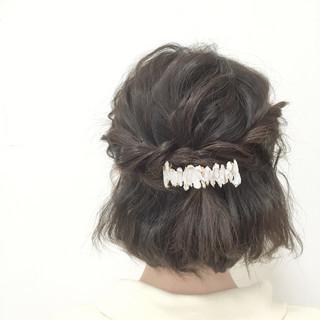 波ウェーブ 愛され モテ髪 フェミニン ヘアスタイルや髪型の写真・画像