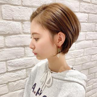 ショート 簡単ヘアアレンジ アンニュイほつれヘア デート ヘアスタイルや髪型の写真・画像 ヘアスタイルや髪型の写真・画像