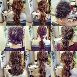 ルーズ ゆるふわ ヘアアレンジ フェミニン ヘアスタイルや髪型の写真・画像 ヘアスタイルや髪型の写真・画像