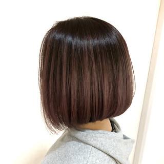 外国人風カラー ピンク フェミニン ハイライト ヘアスタイルや髪型の写真・画像
