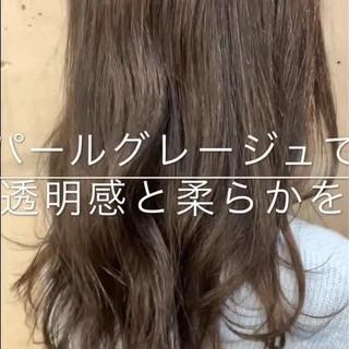 アンニュイほつれヘア 秋 透明感 愛され ヘアスタイルや髪型の写真・画像