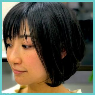 色気 ボブ ナチュラル ニュアンス ヘアスタイルや髪型の写真・画像