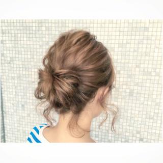 簡単ヘアアレンジ アッシュ ショート 外国人風 ヘアスタイルや髪型の写真・画像