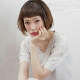 透明感 モード ストレート ナチュラル ヘアスタイルや髪型の写真・画像