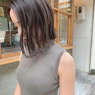 ショートボブ ミニボブ ショートヘア 切りっぱなしボブ ヘアスタイルや髪型の写真・画像