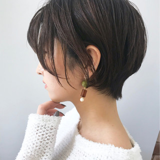 ゆるふわセット ショート アッシュグレージュ 大人かわいい ヘアスタイルや髪型の写真・画像 ヘアスタイルや髪型の写真・画像