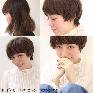 こなれ感 マッシュ 大人女子 ニュアンス ヘアスタイルや髪型の写真・画像